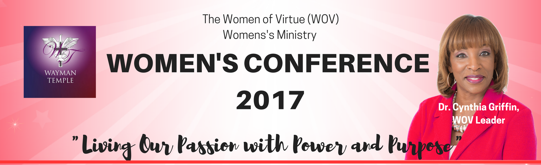 WOMEN'S CONFERENCE 2017 banner